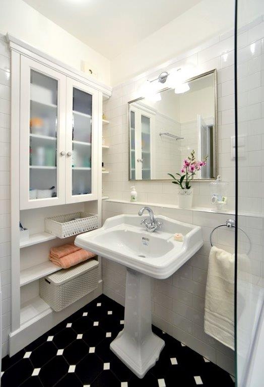 Vintage stílusú fürdő