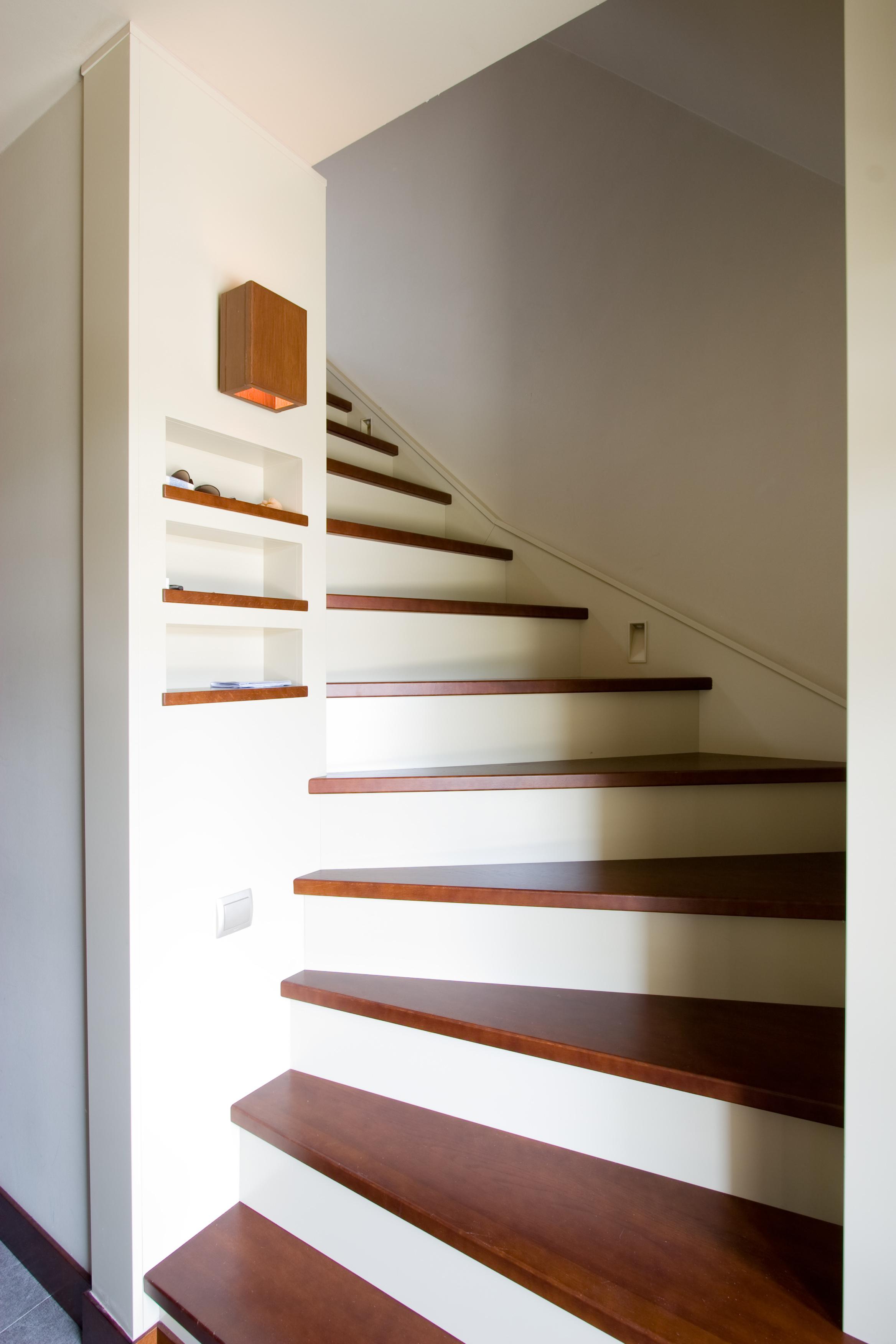 Tömör fa lépcső lapok