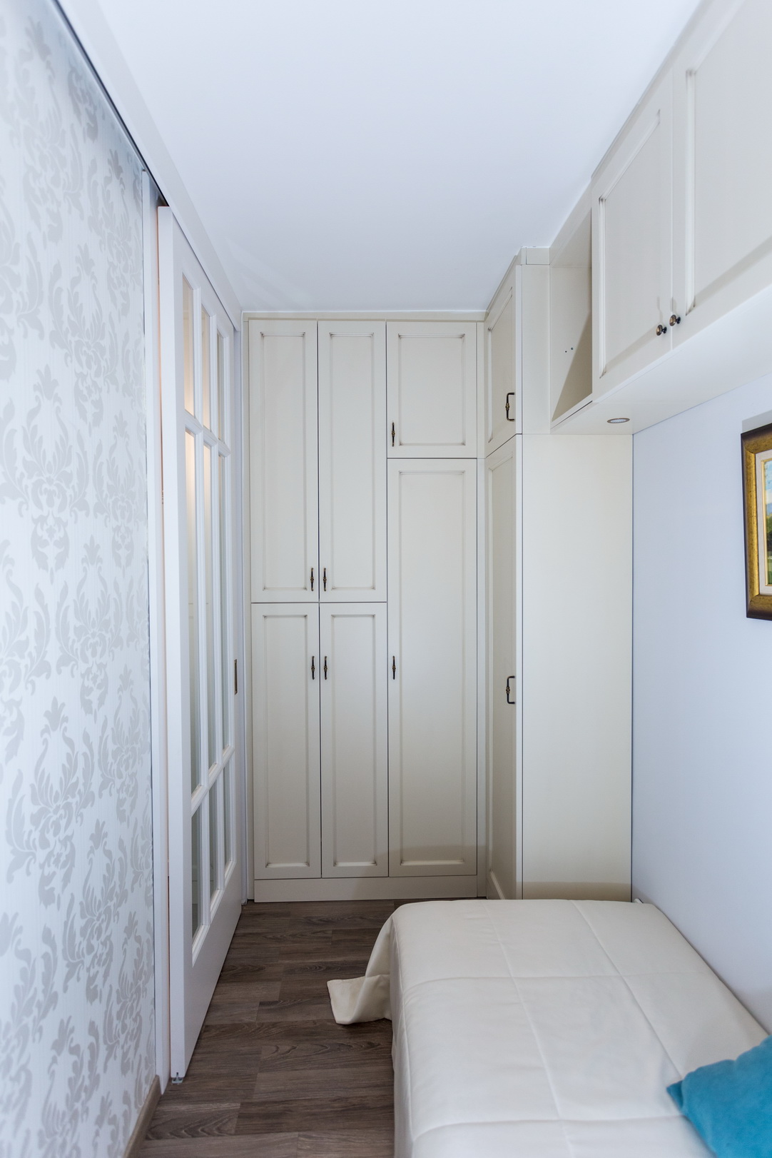 Vintage stílusú hálószoba