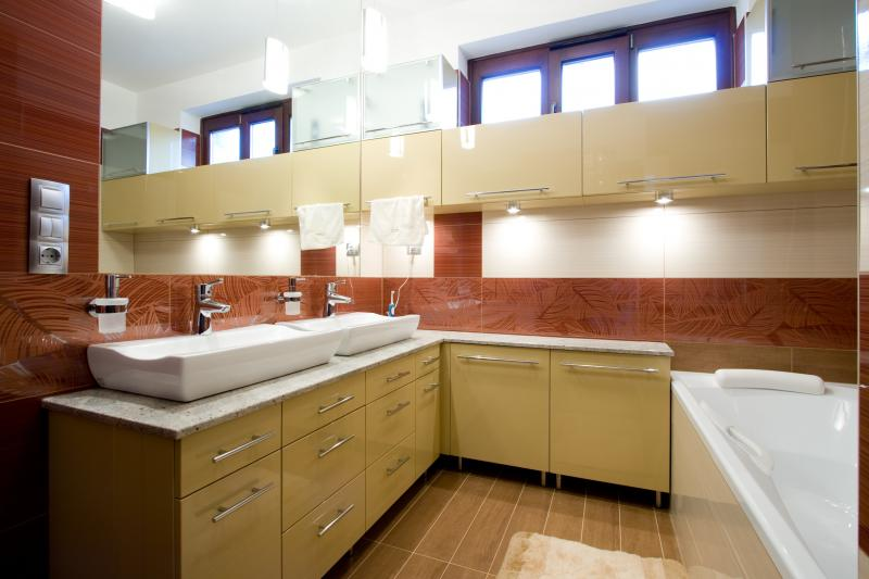 Egyedi gyártású fürdőszoba bútor