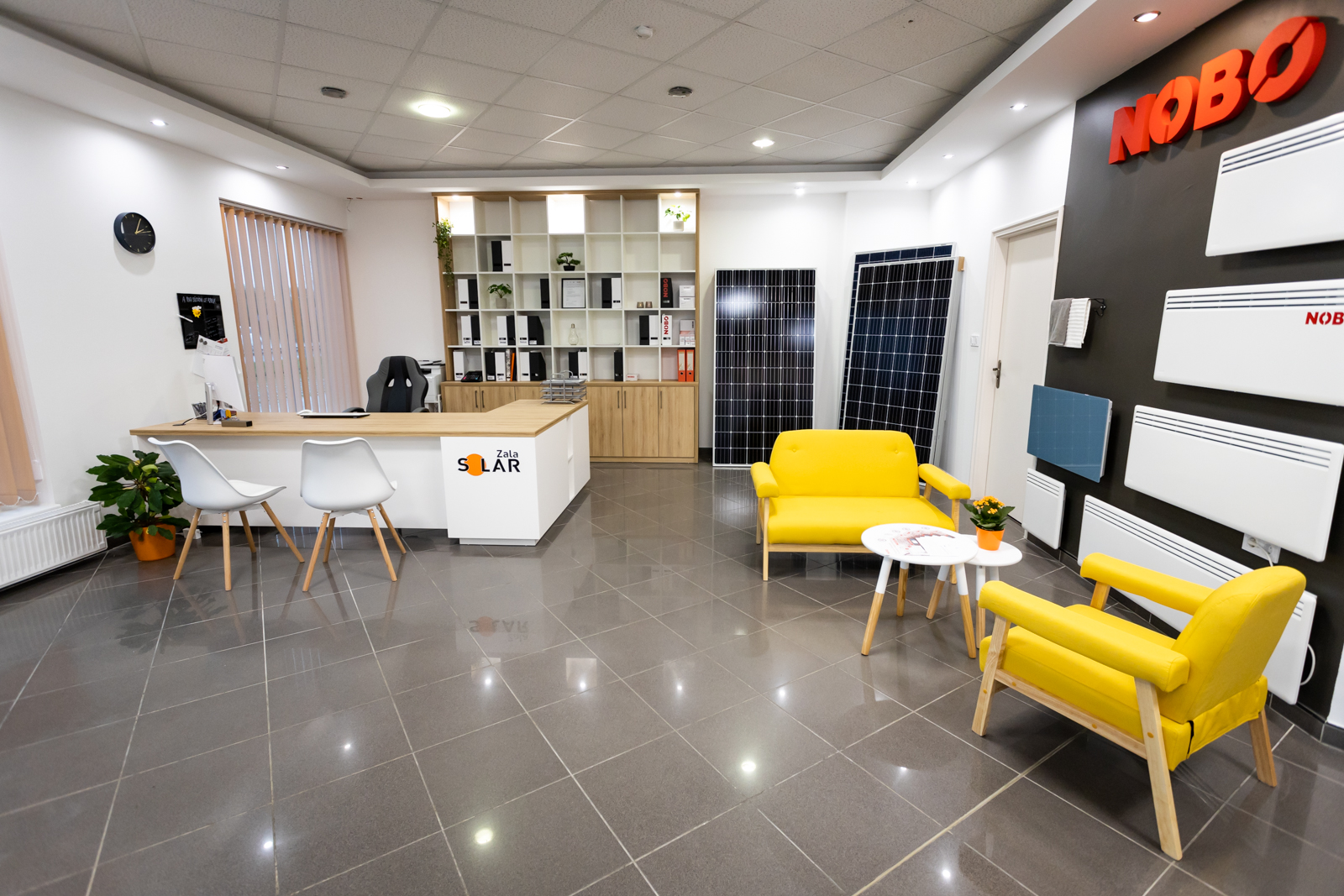 Egyedi modern irodabútor