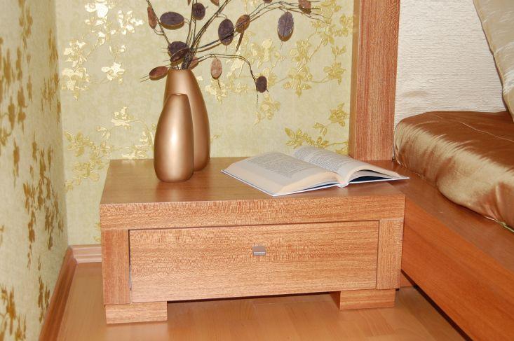 Meranti egzota fa hálószobabútor