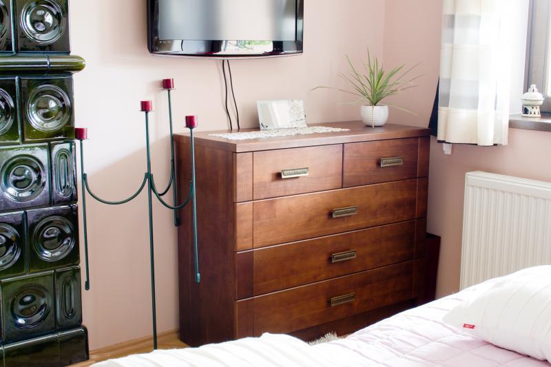 Tömör cseresznye hálószoba bútor
