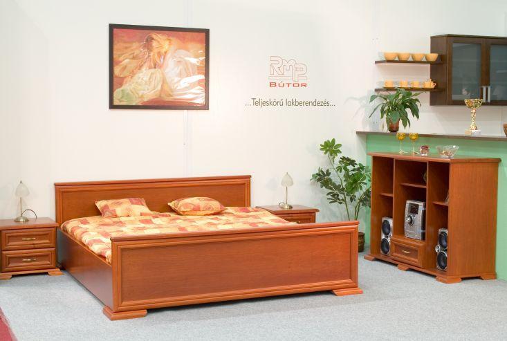 Tömör cseresznyefa hálószobabútor